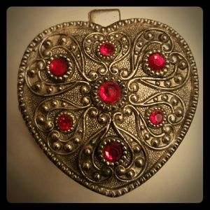 Jewelry - Silver and Ruby Jewlery Box